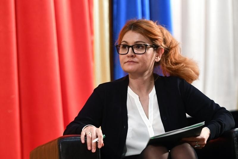 Кандидат от партии «Альянс зеленых» Эльвира Агурбаш. Фото: Максим  Медиапроект s-t-o-l.com