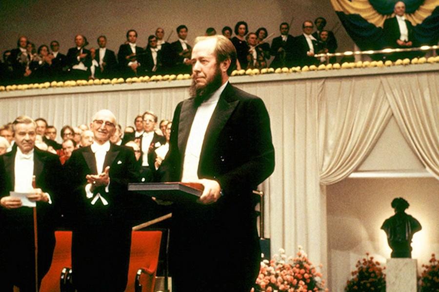 А. И. Солженицыну была присуждена Нобелевская премия по литературе 8 октября 1970 года Медиапроект s-t-o-l.com