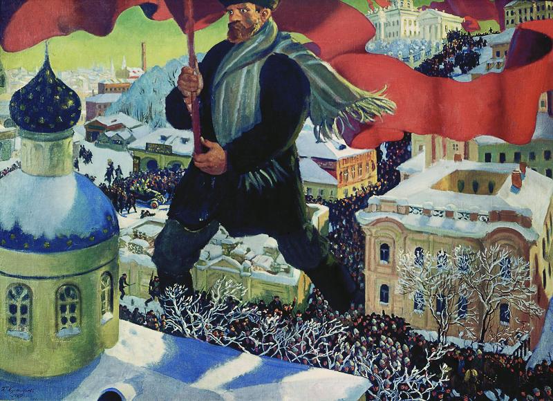 Кустодиев. Большевик Медиапроект s-t-o-l.com