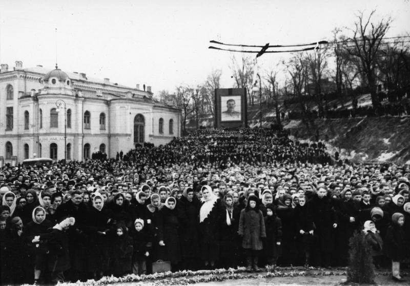 Похороны Сталина Медиапроект s-t-o-l.com