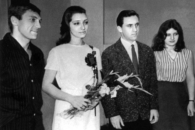 Владимир Высоцкий и его вторая жена Медиапроект s-t-o-l.com