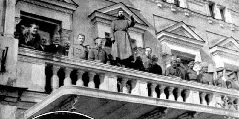 Революционный митинг у Царскосельской ратуши. Март 1917 г Медиапроект s-t-o-l.com