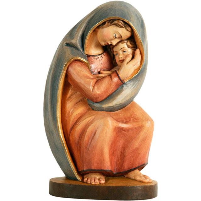 Фигурка Богоматери с младенцем, сделанная по рисунку Курта Ройбера Медиапроект s-t-o-l.com