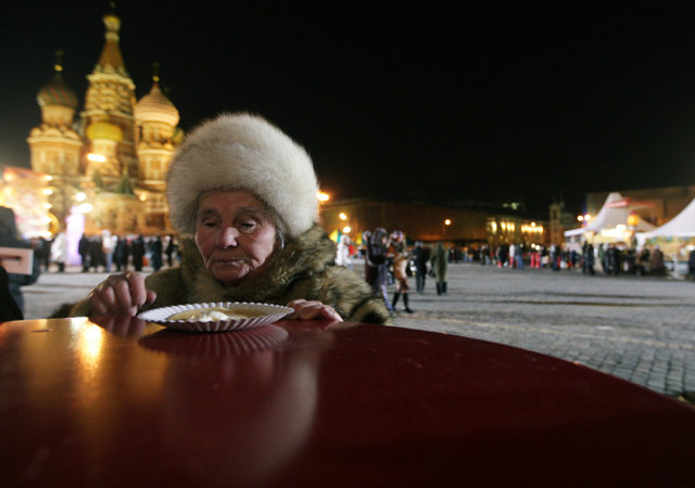 Жительница Москвы на праздновании Масленицы Медиапроект s-t-o-l.com