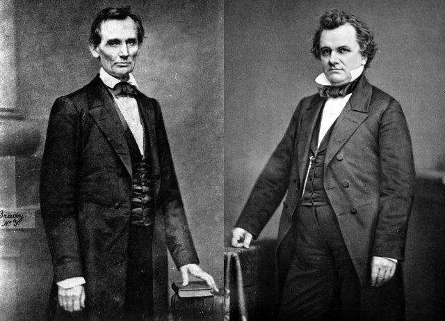 Авраам Линкольн и Стивен Дуглас Медиапроект s-t-o-l.com