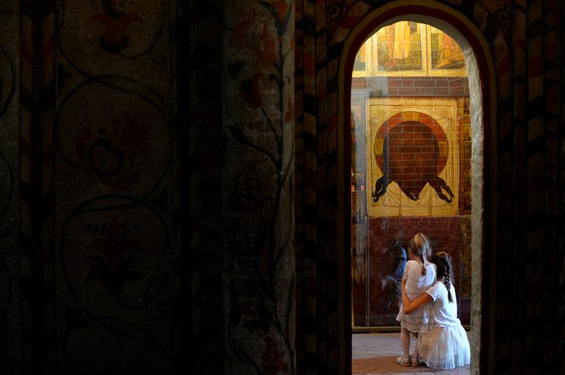 ети в храме.Фото: Сергей Пятаков, РИА Новости Медиапроект s-t-o-l.com