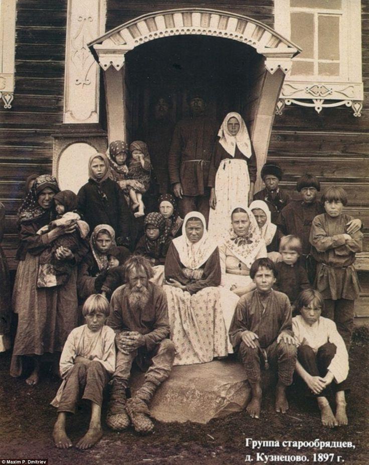 Группа старообрядцев. Фото: Максим Дмитриев  Медиапроект s-t-o-l.com