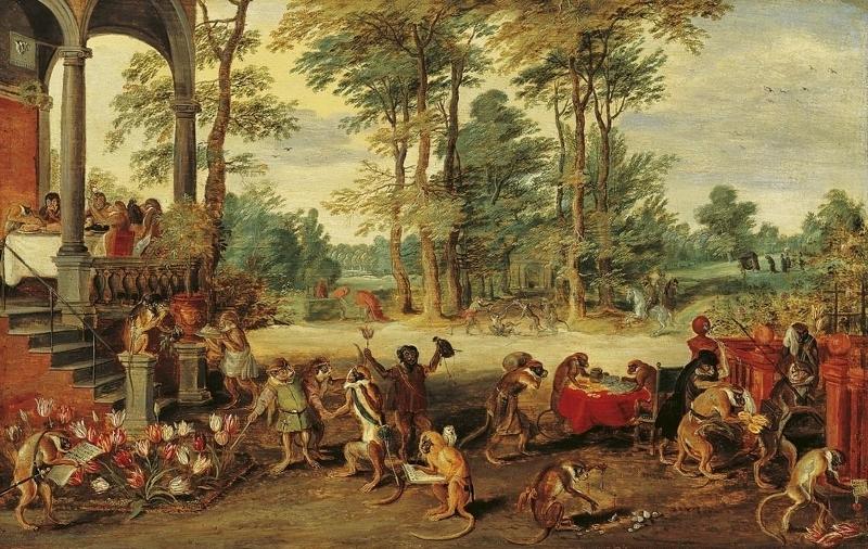 """Ян Брейгель. """"Тюльпаномания"""" ,1640 г Медиапроект s-t-o-l.com"""