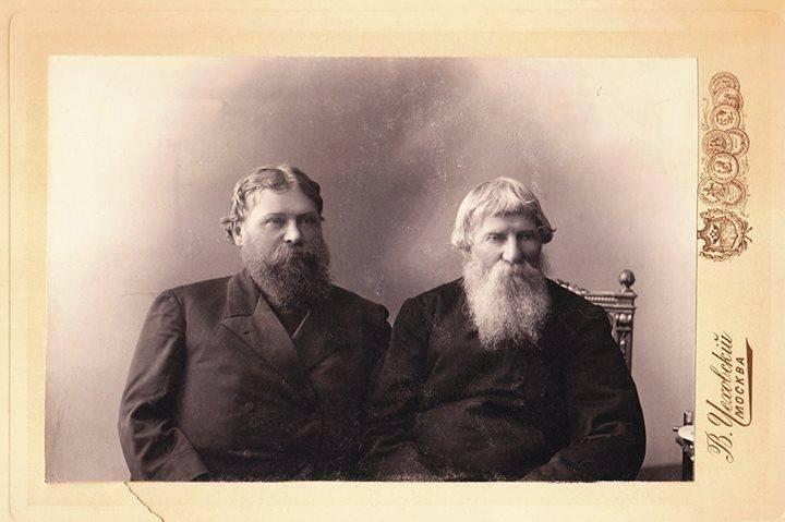 Москва, начало 20-го века, купцы старообрядцы. Медиапроект s-t-o-l.com