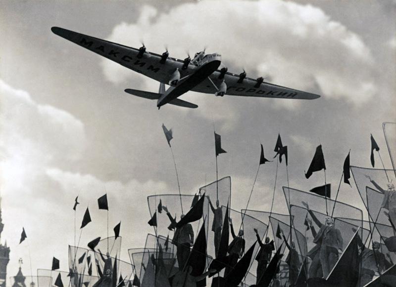 """Самолет """"Максим Горький"""", 1934 год Медиапроект s-t-o-l.com"""