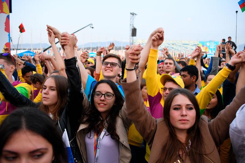 Фестиваля молодежи и студентов. Фото: Сысоев, РИА Новости Медиапроект s-t-o-l.com