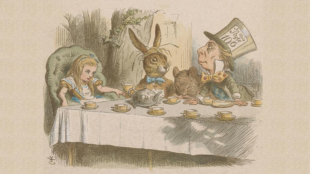 J.Tenniel.Mad Tea Party Медиапроект s-t-o-l.com