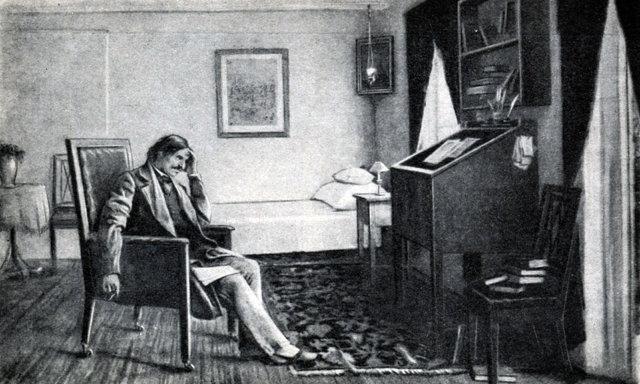 Волков В. Н.В. Гоголь в Васильевке за работой летом 1832 г. 1892 Медиапроект s-t-o-l.com