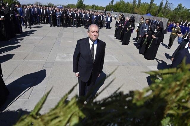 Президент Армении Армен Саркисян. Фото: Асатур Есаянц, РИА Новости Медиапроект s-t-o-l.com