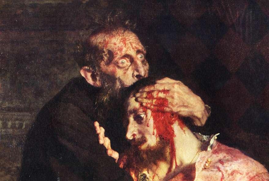 «Иван Грозный и сын его Иван 16 ноября 1581 года» фрагмент Медиапроект s-t-o-l.com