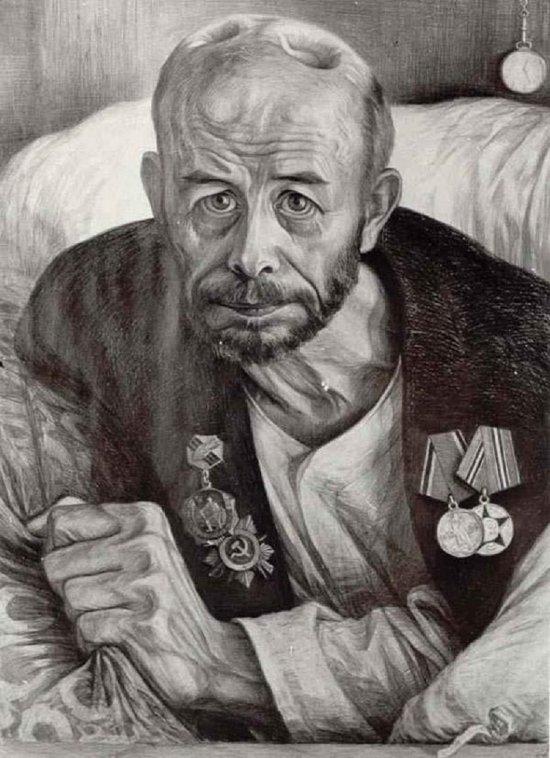 Геннадий Добров. Портрет Александра Подосенова Медиапроект s-t-o-l.com