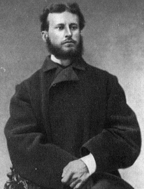 В.В.Верещагин во время первой поездки на Кавказ Медиапроект s-t-o-l.com