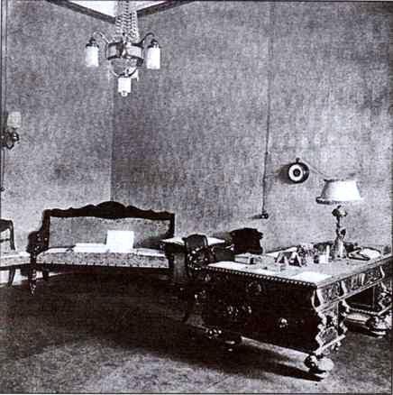 Кабинет Николая II в Ставке в Могилеве. 1916 г. Медиапроект s-t-o-l.com