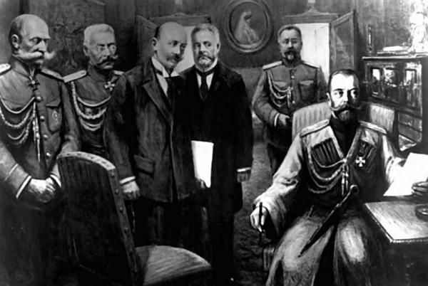 Отречение Николая II от престола Медиапроект s-t-o-l.com