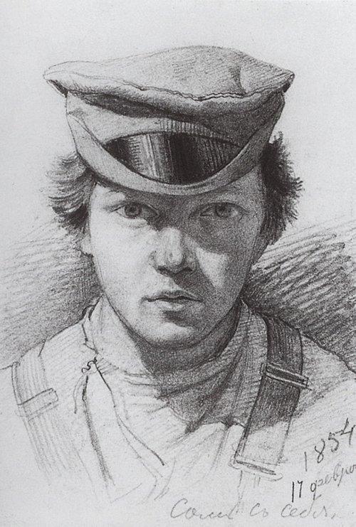 И. И.Шишкин. Автопортрет Медиапроект s-t-o-l.com
