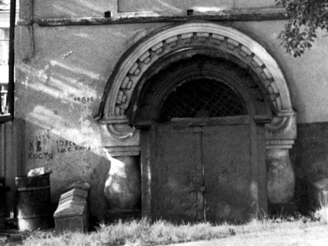 Вход в подвал Ипатьевского дома (фото 1970 г.) Медиапроект s-t-o-l.com