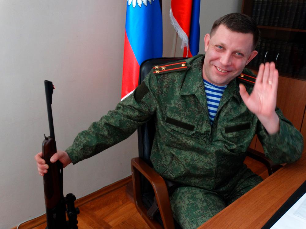 Александр Захарченко. Фото: АлександрЧаленко Медиапроект s-t-o-l.com