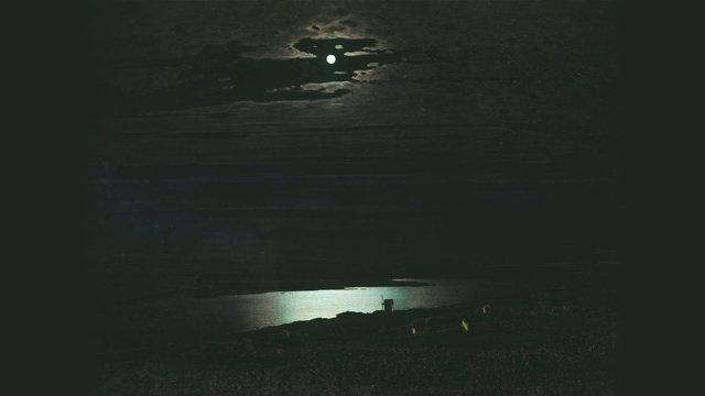 А.И. Куинджи Лунная ночь на Днепре Медиапроект s-t-o-l.com