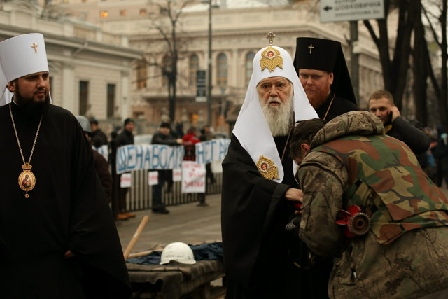 Филарет Денисенко на Евромайдане Медиапроект s-t-o-l.com