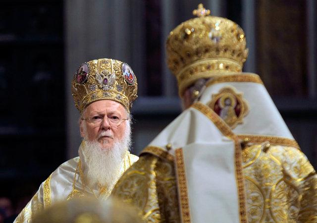Патриарх Константинопольский Варфоломей. Медиапроект s-t-o-l.com