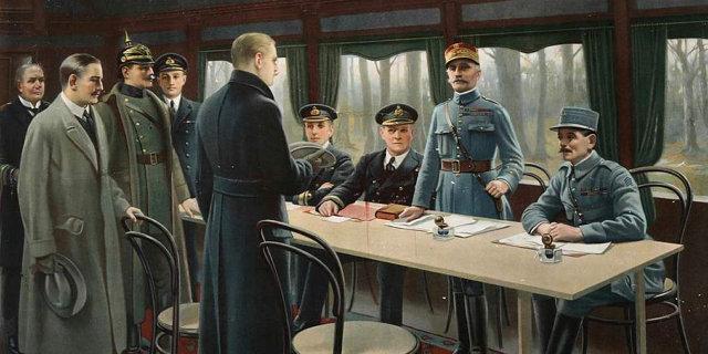 Подписание Компьенского перемирия 1918 Медиапроект s-t-o-l.com
