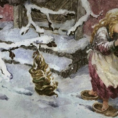 «Девочка со спичками»: новогодняя антисказка