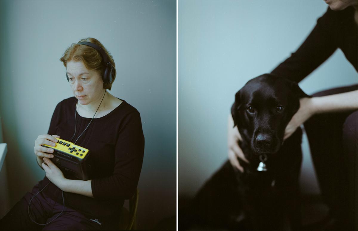 Виктория и её собака-поводырь, Вива Медиапроект s-t-o-l.com