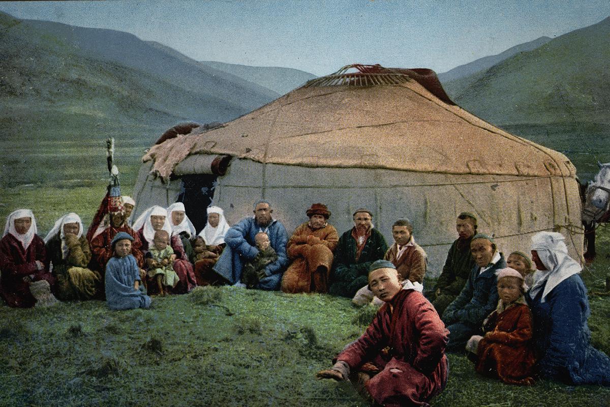Картинки казахский аул