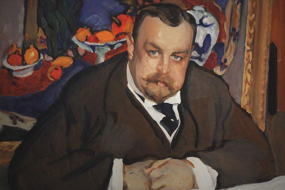 Валентин Серов. Портрет И.А. Морозова. 1910 Медиапроект s-t-o-l.com